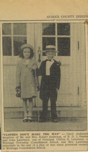Carol Anderson, John Lawrence