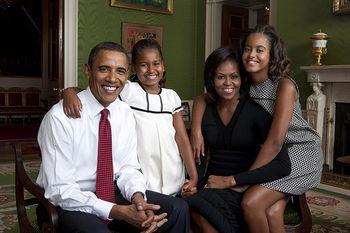 Obamafamiliyphoto