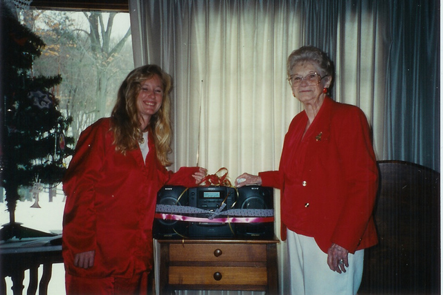 Justine Lawrence and Florence Lawrence 1995