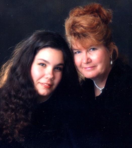 Judy and daughter Malissa